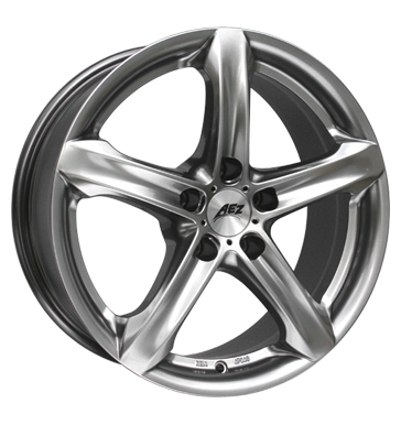 tire - 10x21 5x120 ET30 AEZ Yacht SUV silber highgloss Couplings + E Sets Rims / Alu IRMSCHER Moped & Mokick parts tyres