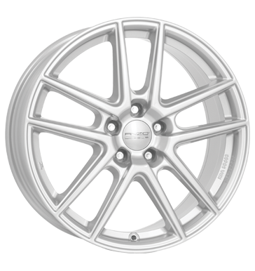 tire - 7x17 5x105 ET40 Anzio Split silber polar-silber Moped & Mokick parts Rims / Alu Bands WIECHERS SPORT tools