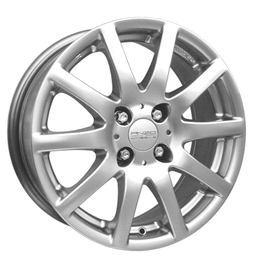 tire - 7x16 4x108 ET22 Anzio Ultra silber polar silber PONGRATZ Rims / Alu Windshield cleaning KING car parts