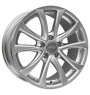 tire - 7x16 5x100 ET35 Artec AR3 silber sterlingsilber lackiert Overalls / Combinations Rims / Alu American vehicles Axxion steel rim