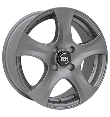 tire - 6.5x15 4x100 ET35 Artec BX Design grau / anthrazit gun metal grey (matt) Chrome parts Rims / Alu Rims / Alu WHEELS tire