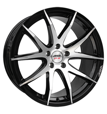 tire - 8.5x19 5x110 ET35 ASA GT 3 schwarz schwarz glanz frontpoliert Thermo Shirts / Shirts Rims / Alu Sealants and adhesives Battery wholesaler