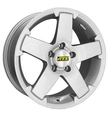 tire - 7x16 5x108 ET45 ATS Aquila silber kristall-silber Summer total wheels aluminium Rims / Alu Scooter parts Motorcycle Racing praudh