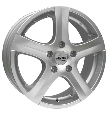 tire - 7x16 5x112 ET48 Autec Nordic silber brilliantsilber-lackiert Valve Truck Rims / Alu Warning triangles Offroad full year from 17.5