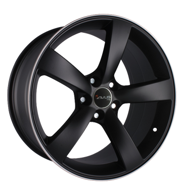 tire - 7.5x17 5x100 ET35 Avus AF 10 schwarz matt black polished Trunk tray Rims / Alu allwheather Specials testjj paripakv vaahan