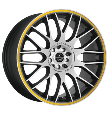 tire - 8.5x19 5x108 ET40 Barracuda Karizzma gelb Mattblack-Polished / Color Trim gelb CROMODORA Rims / Alu Agricultural tractors Test category 1 Oil
