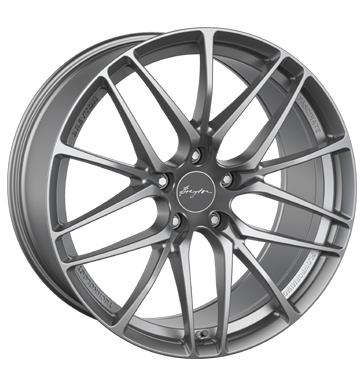 tire - 10x20 5x120 ET46 Breyton Fascinate gold matt gun undercut Peugeot Rims / Alu Add rim lock Test category 2 wheels