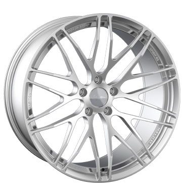 tire - 9x19 5x120 ET29 Breyton Spirit RS silber silver anodized Clincher bands: Motorcycle Rims / Alu COM 4 WHEELS Maxx Wheels tire