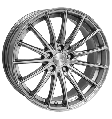 tire - 8.5x19 5x112 ET45 Brock B36 silber hyper silber BAY Wheels Rims / Alu Stickers + films Global commission steel rim
