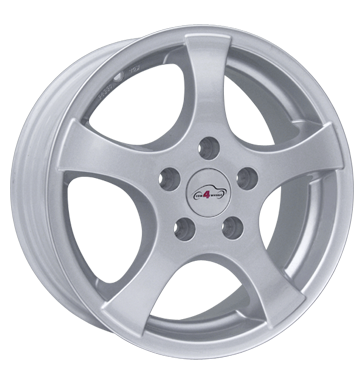 tire - 7x15 5x114.3 ET35 Com4Wheels Cruise silber silber lackiert Speaker Rims / Alu Older than 2 years Interior utilities