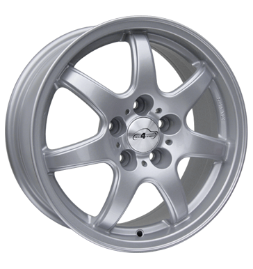 tire - 7x16 5x112 ET48 Com4Wheels Spyke silber silber lackiert Cooling - Climate Rims / Alu RC-Design Motec car parts