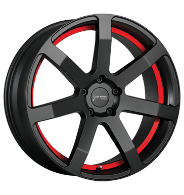 tire - 10x20 5x112 ET30 Corspeed Challenge rot PureSports / undercut Color Trim rot FOSAB Rims / Alu Trailer Consoles + holders wheels
