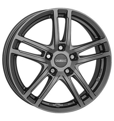 tire - 7.5x17 5x112 ET38 Dezent TZ graphite grau / anthrazit graphite matt Stickers + films Rims / Alu Axxion EMOTION wholesaler