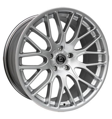 tire - 8.5x19 5x112 ET21 Diewe Wheels Impatto silber Argento (silber) Writings Rims / Alu Truck Winter Quad tire