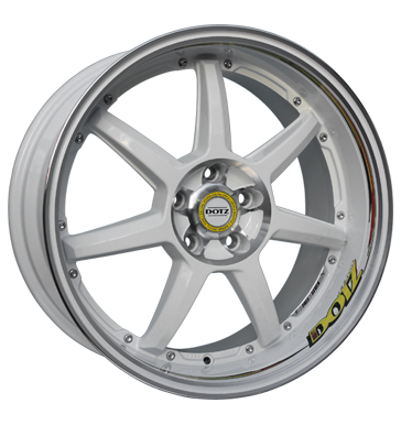 tire - 8x18 5x114.3 ET48 Dotz Fast Seven Drift weiss white polished Offroad Winter Rims / Alu Other Export Schnittst tools