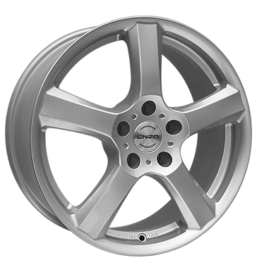 tire - 7x16 5x112 ET48 Enzo B silber silber Rainwear Rims / Alu Clincher bands: Motorcycle Customizing & Performance Oil