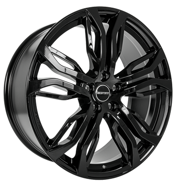 tire - 10x21 5x120 ET40 GMP Dynamik schwarz shiny black Offroad summer from 17.5