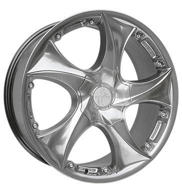 tire - 7.5x17 5x112 ET30 Keskin KT9 Malik silber hyper summer Rims / Alu FOSAB American vehicles wheels
