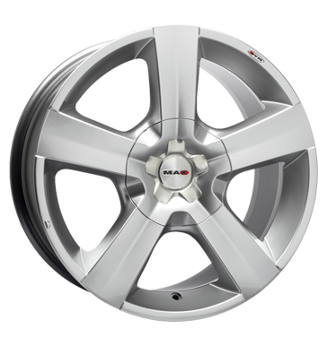 tire - 8x17 5x127 ET40 MAK X-Force silber hyper silver Hyundai Rims / Alu Caps and hats Polo shirts praudh