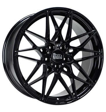 tire - 8.5x20 5x112 ET45 MAM MAM B2 schwarz schwarz lackiert Light Truck Summer Rims / Alu Car body parts Wheel care Oil
