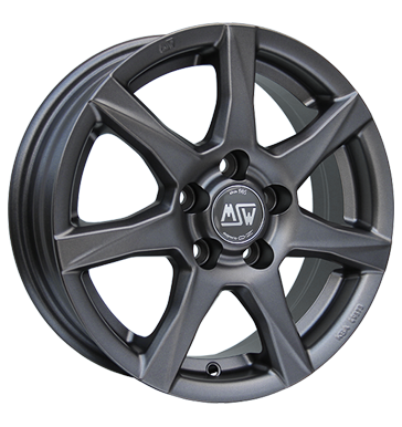 tire - 7x16 5x108 ET48 MSW 77 grau / anthrazit matt dark grey Inspection packages and kits Rims / Alu INDIVIDUAL Couplings + E Sets praudh