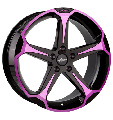 tire - 8.5x19 5x114.3 ET42 Oxigin 13 Panther pink pink polish Export Schnittst Rims / Alu Barracuda Trailer car parts