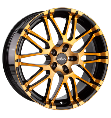 tire - 8.5x19 5x108 ET42 Oxigin 14 Oxrock orange orange polish American vehicles Rims / Alu Steering and axle suspension CROMODORA tire