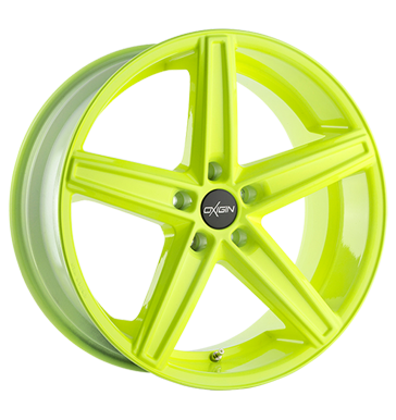tire - 9x20 5x120 ET15 Oxigin 18 Concave gelb neon yellow Waste oil Rims / Alu Tyre repair kit Tow ropes tyre