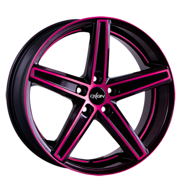 tire - 10.5x20 5x108 ET50 Oxigin 18 Concave pink pink polish Tool and gear wagon Rims / Alu Magma ENZO wheels