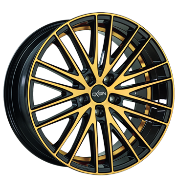 tire - 8.5x18 5x112 ET35 Oxigin 19 Oxspoke gold gold polish Helmet accessories and visors Rims / Alu ENZO ADVANTI steel rim