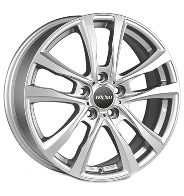 tire - 7.5x17 5x112 ET27 OXXO Decimus silber silver Offroad summer Rims / Alu Caps and hats Steel wheel wheels