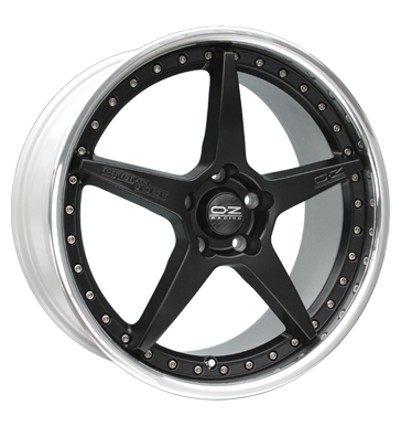 tire - 8.5x19 5x120 ET26 OZ Crono III schwarz schwarz matt lackiert Kerscher Rims / Alu Cleaning supplies Rims / Alu wheels