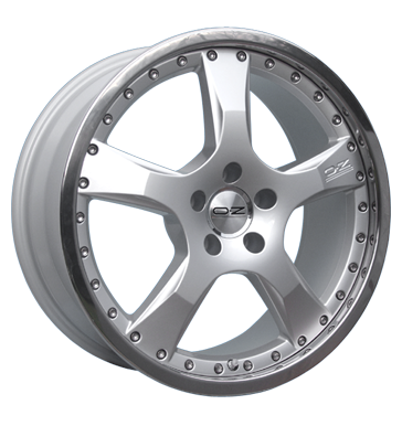 tire - 8.5x20 5x120 ET14 OZ Giotto 2 silber racing silber Car body tools Rims / Alu Magma Suspension + damping tools