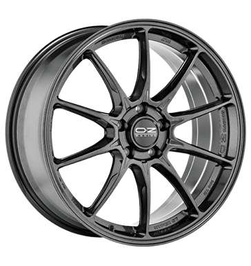 tire - 7x18 4x108 ET42 OZ Hyper GT grau / anthrazit star graphite Design antennas Rims / Alu Special tools Discover now! Oil