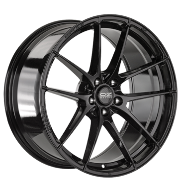 tire - 11x19 5x130 ET65 OZ Leggera HLT schwarz gloss black Light Truck Full Year Rims / Alu STILAUTO Truck Summer wheels