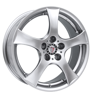 tire - 7x16 5x112 ET48 Platin P39 silber sterlingsilber Alessio Rims / Alu Tow bars Truck Summer wheels