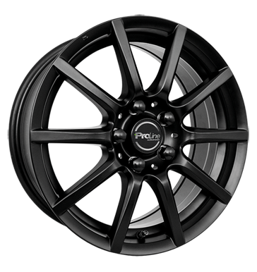 tire - 7.5x17 5x115 ET40 Proline CX100 schwarz black matt One arm wiper Rims / Alu FONDMETAL Offroad Full Year Oil