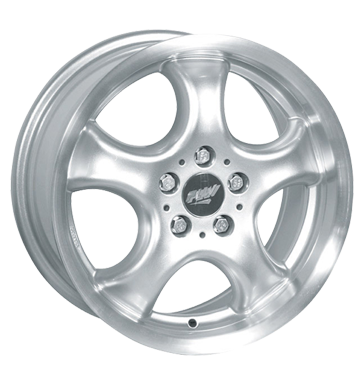 tire - 7x15 5x112 ET35 Proline PCC silber silber Alutec Rims / Alu AUDI Steering and axle suspension tyres
