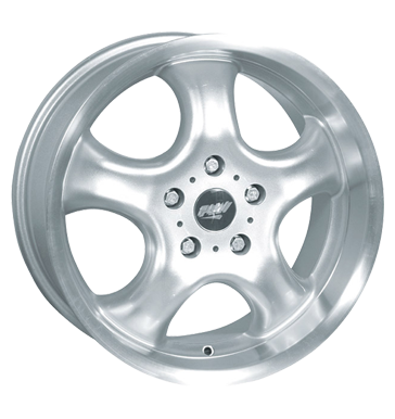 tire - 8x17 5x108 ET35 Proline PCC silber silber KING Rims / Alu Tool and gear wagon American vehicles tools