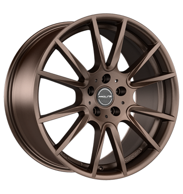 tire - 7.5x17 5x98 ET38 Proline PXF bronze matt bronze Luggage and suitcase Rims / Alu Trunk tray Aluminium complete wheels praudh