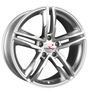 tire - 8x19 5x112 ET45 R-Style SR5 silber silber lackiert Ronal Rims / Alu Offroad summer from 17.5