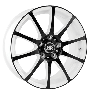 tire - 6x14 4x108 ET25 Racer Wheels Axis weiss white machined face black MERCEDES BENZ Rims / Alu CARLSSON Car care + Maintenance wheel