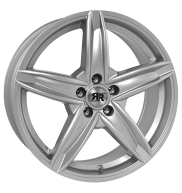 tire - 7x16 5x100 ET35 Racer Wheels Border silber silver Waste oil Rims / Alu Special tools Valve tools steel rim