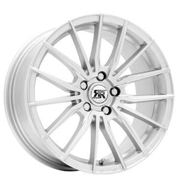 tire - 6.5x15 4x108 ET25 Racer Wheels Schack silber silver Adhesive weights Rims / Alu Lighting Waste oil car parts