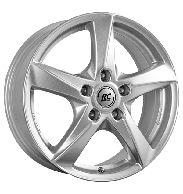 tire - 7x17 5x100 ET51 RCDesign RC30 silber kristallsilber Clothing Rims / Alu RC-Design STILAUTO car parts