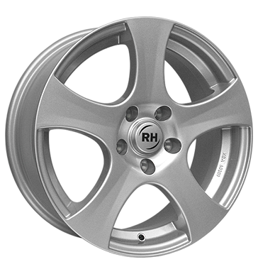 tire - 6.5x15 5x110 ET35 RH BX Design silber sportsilber lackiert Offroad full year from 17.5