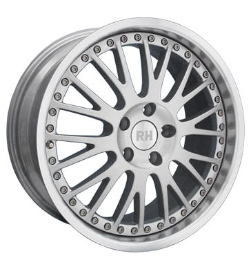 tire - 10x18 5x112 ET49 RH RAN Crossline silber silber Horn hochgl. pol. Storage boxes Rims / Alu Mini and pocket bike parts KING steel rim