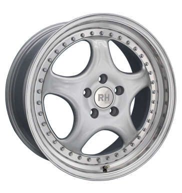 tire - 9.5x18 5x120 ET26 RH ZW4 Cup silber silber Horn hochgl. pol. Drive, motor + gearbox Rims / Alu Global commission Motorcycle Cross tires