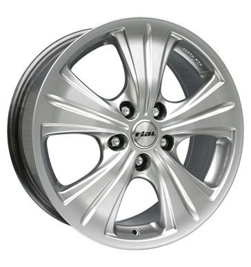 tire - 7x16 5x100 ET38 Rial Modena silber sterling-silber Truck Summer from 17.5