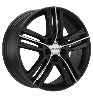 tire - 7.5x17 5x115 ET42 Ronal R57 schwarz mattschwarz-frontkopiert Interior and pollen filter Rims / Alu Daily G-WHEEL tire